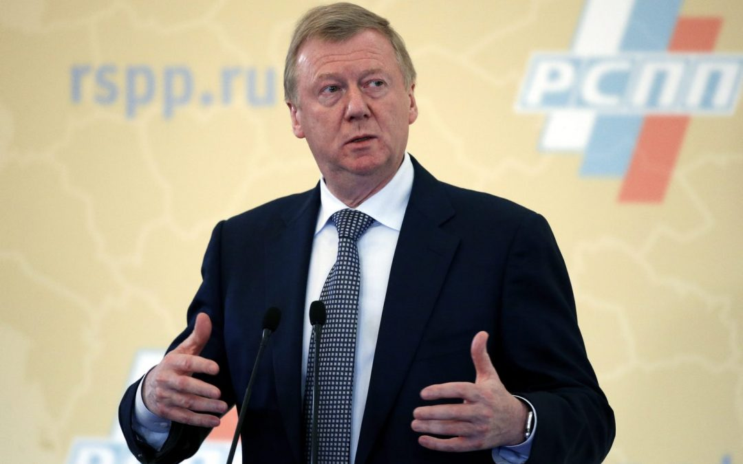 The Hunt for Chubais, Putin Is Getting Weaker