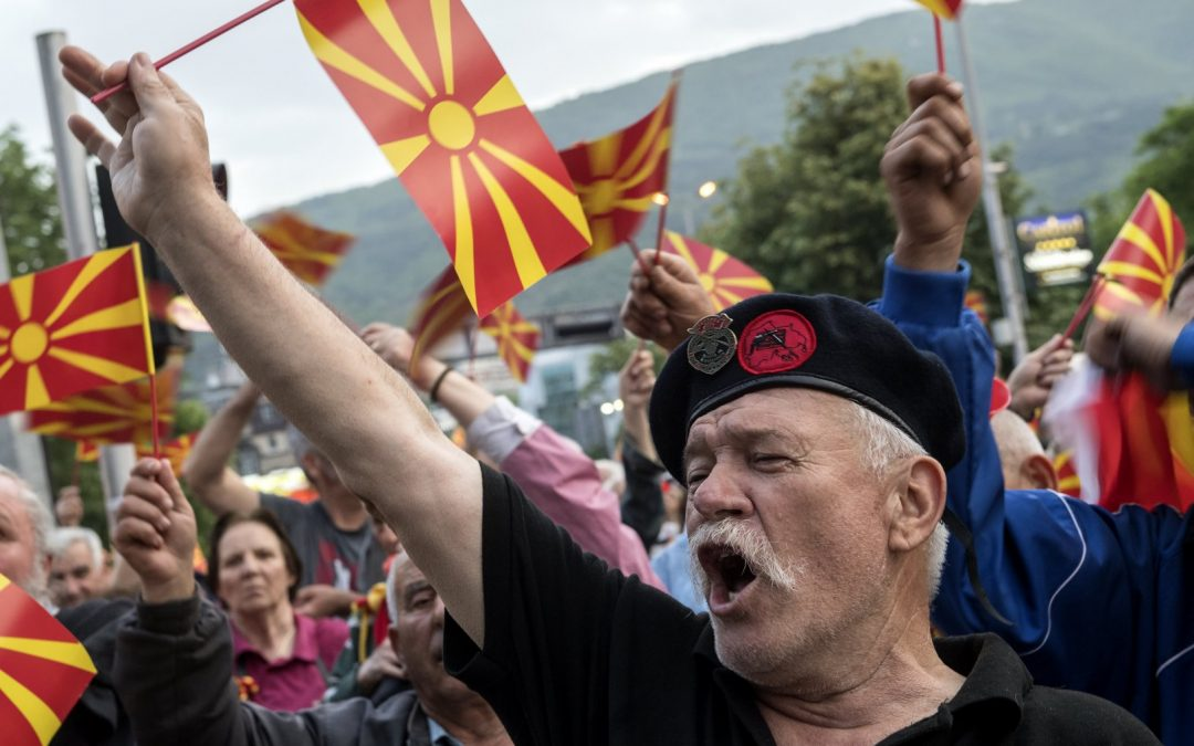 Setting Macedonia on Fire