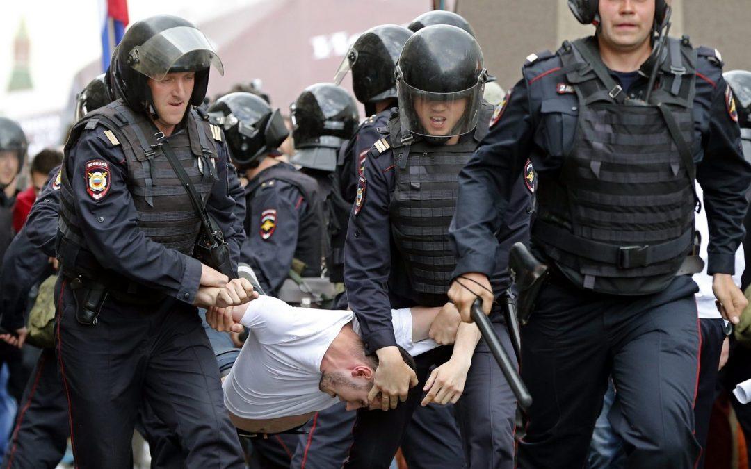 Brutalne represje w Rosji