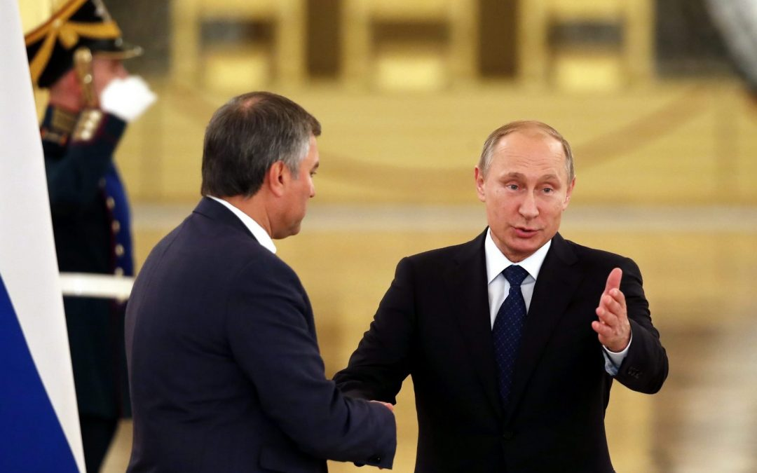 Volodin's ambitions