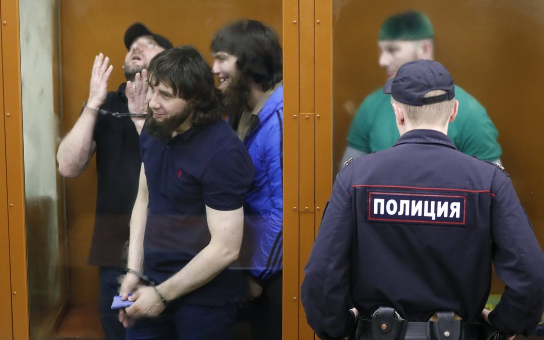Sentences for Killing Nemtsov