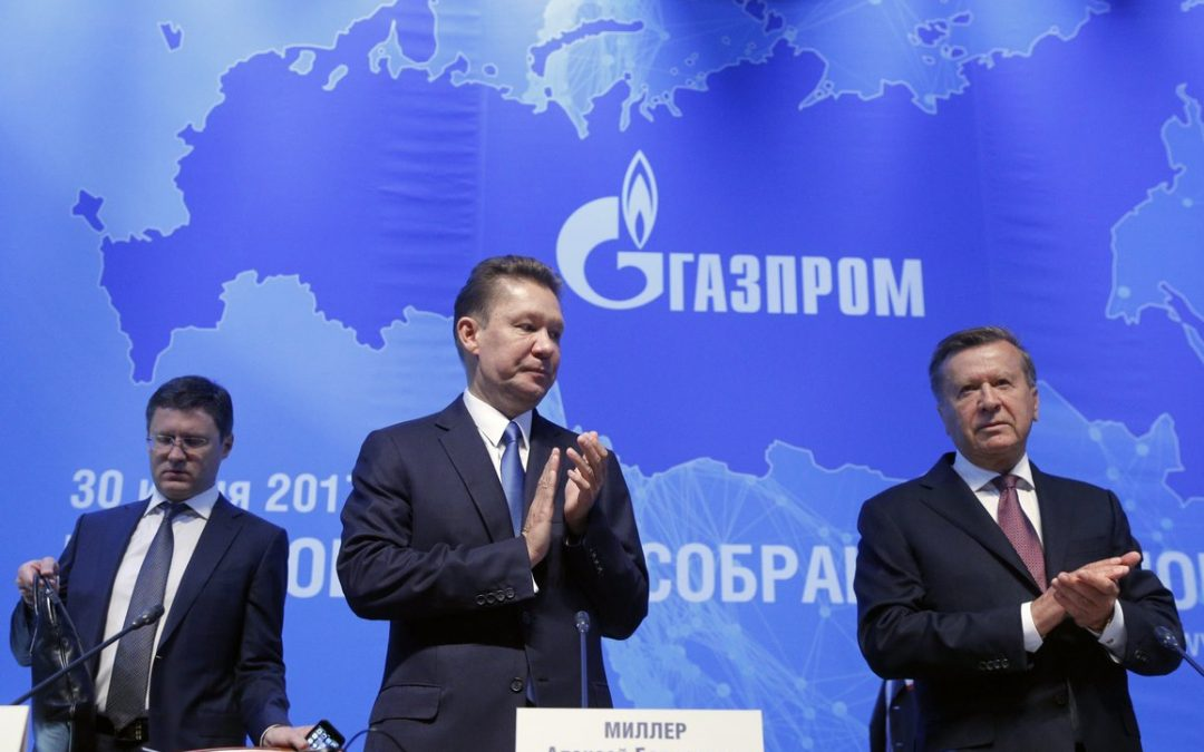 Gazprom suffers losses