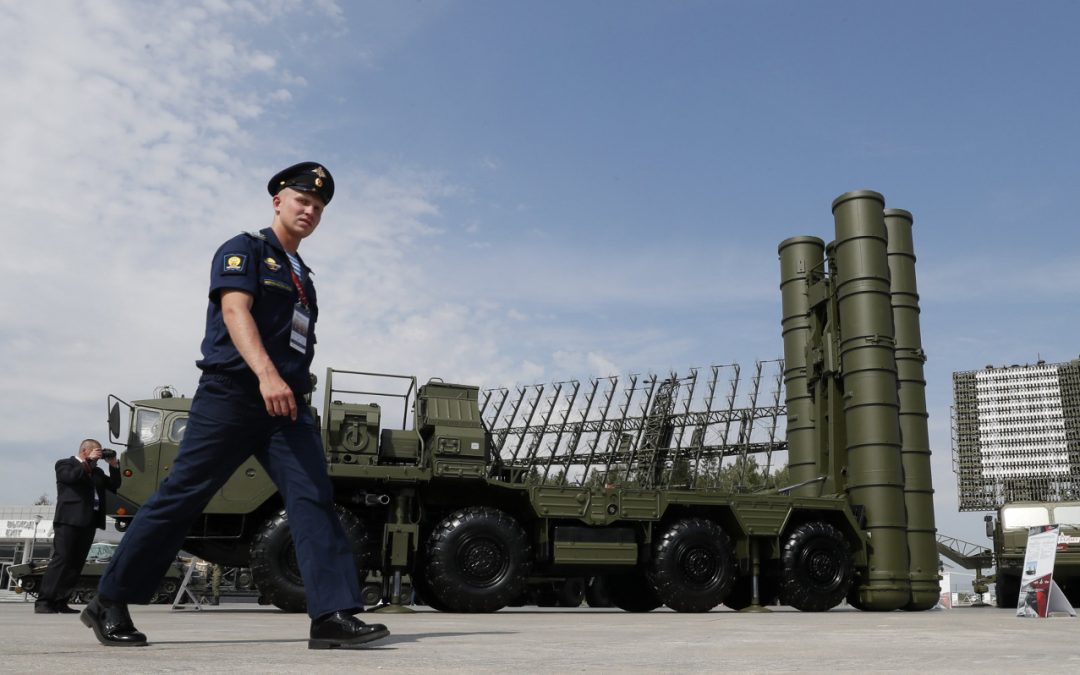 The S-400 Hits the Southern Flank of NATO