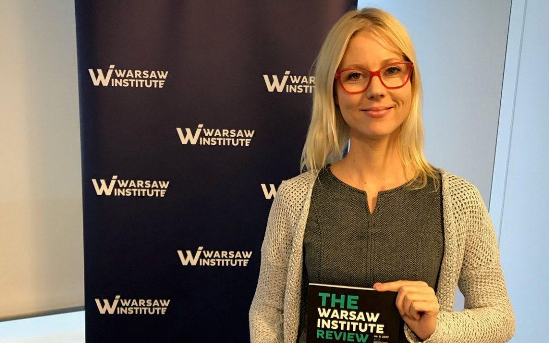 Jessikka Aro in Warsaw