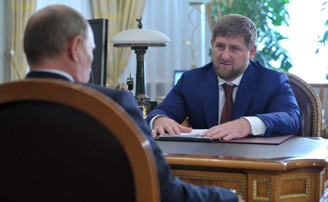Putin and Kadyrov. Together in life and death