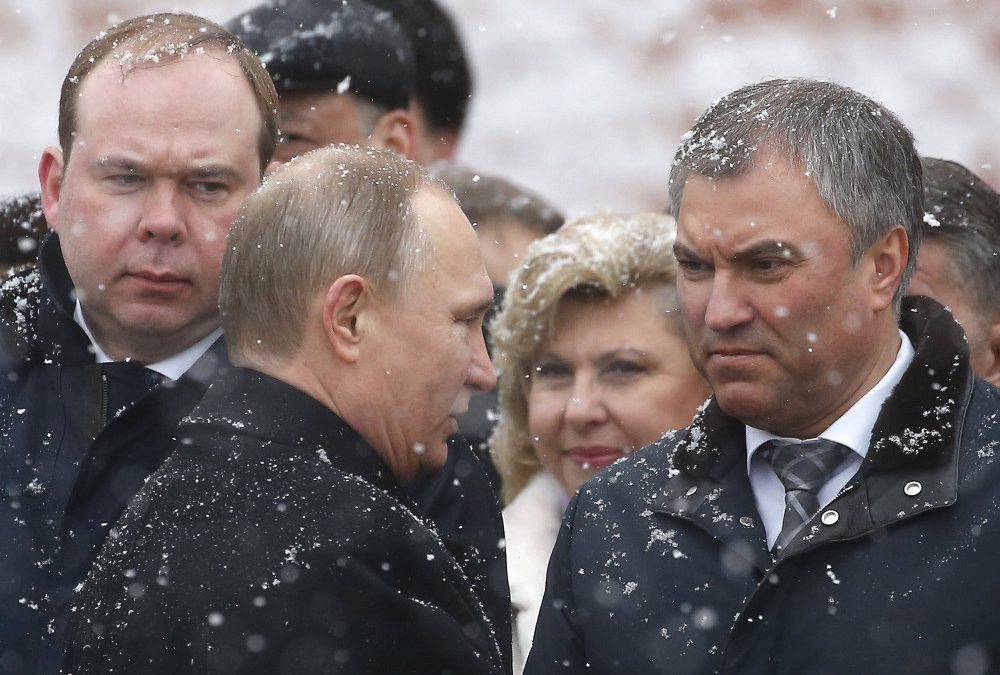 Volodin In Retreat, Enemies Take the Party