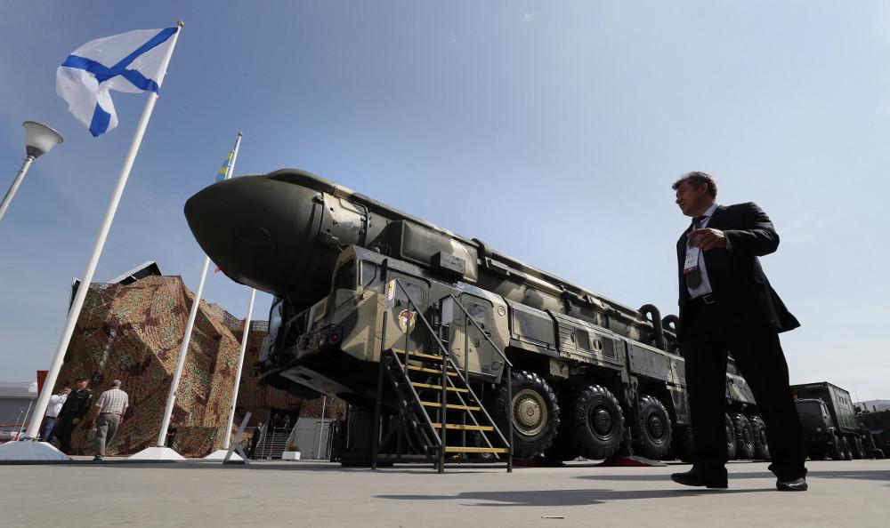 Putin straszy atomową triadą
