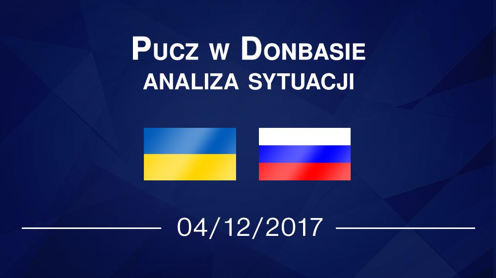 Pucz w Donbasie – analiza sytuacji