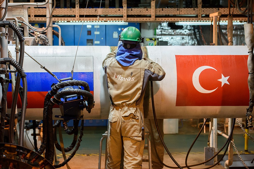 Problems with the Turkish Stream project