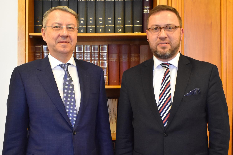 A Deputy Minister Bartosz Cichocki's visit to Bucharest