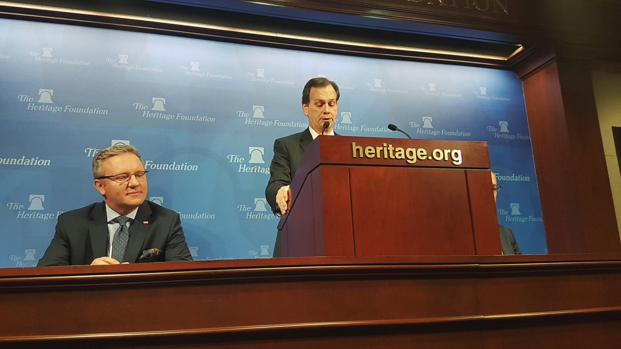 The conference of Heritage Foundation and Warsaw Institute in Washington