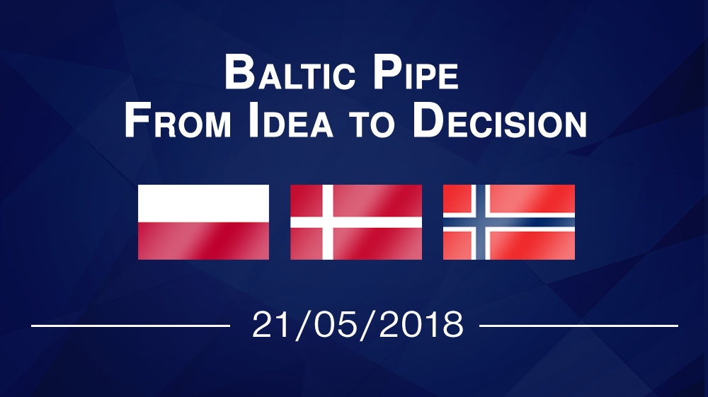 Baltic Pipe – From Idea to Decision
