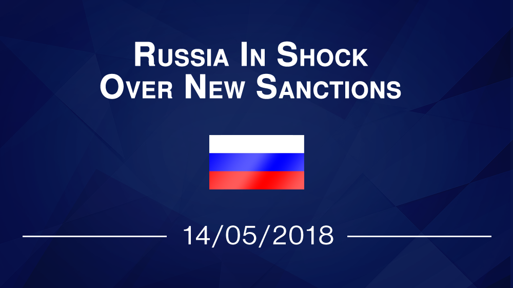 Russia In Shock Over New Sanctions