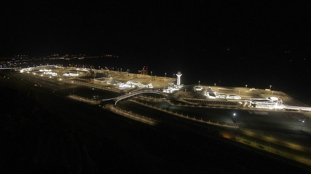 Nowy port w Turkmenbaszy. Kolejna brama do Azji Centralnej