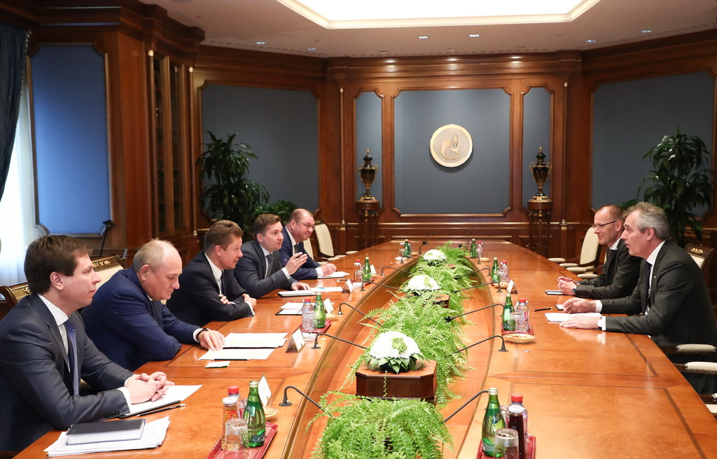 St. Petersburg: Progress in Relations between Gazprom and Germany