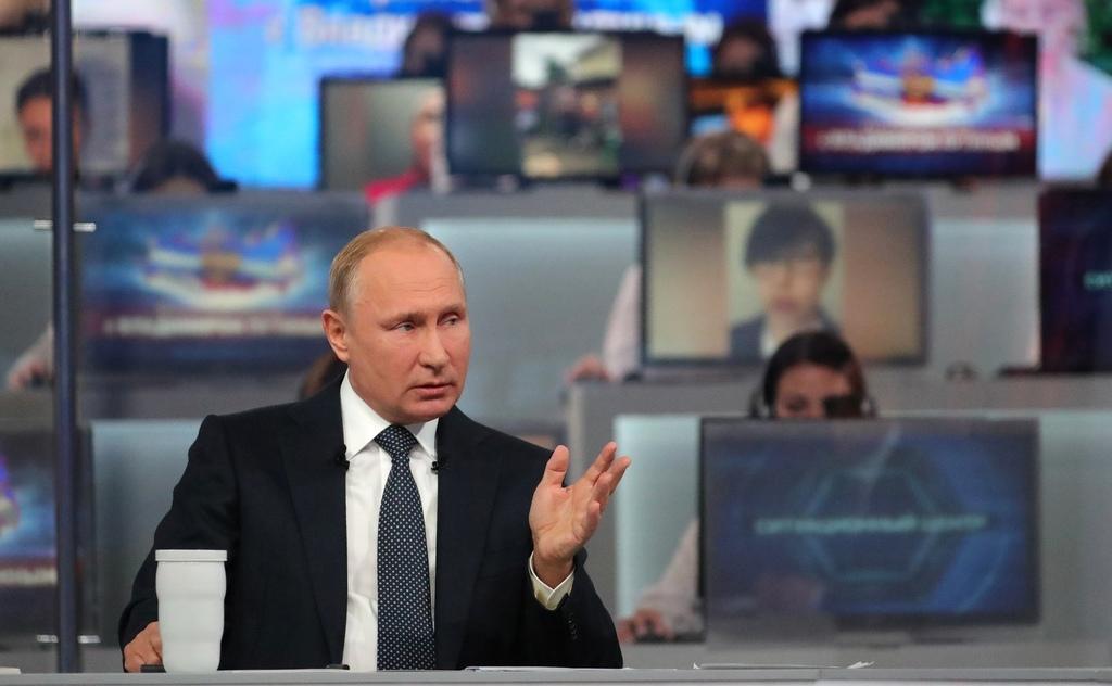 Wojna z Ukrainą? Putin odpowiada (nie tylko) Rosjanom