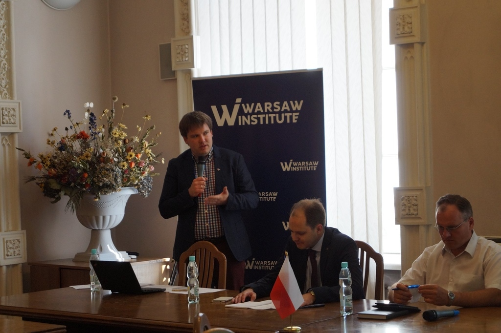 Three Seas Initiative Idea, Implementation, Perspectives Seminar in Lublin WARSAW INSTITUTE FOUNDATION 1