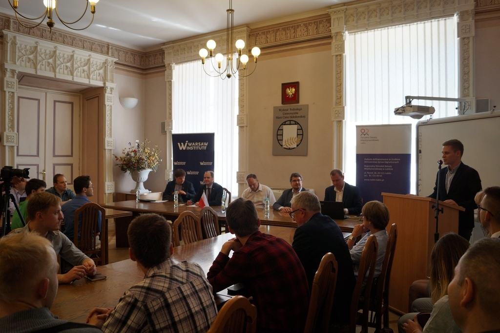 Three Seas Initiative Idea, Implementation, Perspectives Seminar in Lublin WARSAW INSTITUTE FOUNDATION (4)
