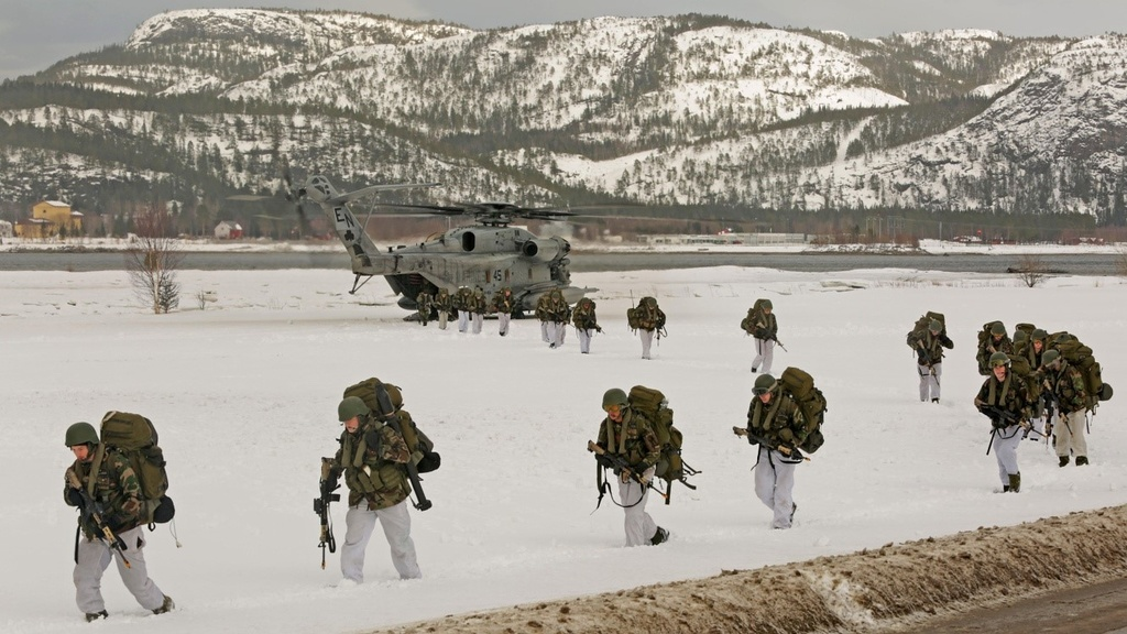 More U.S. Marines to Be Deployed in Norway? Russia Protests and Threatens