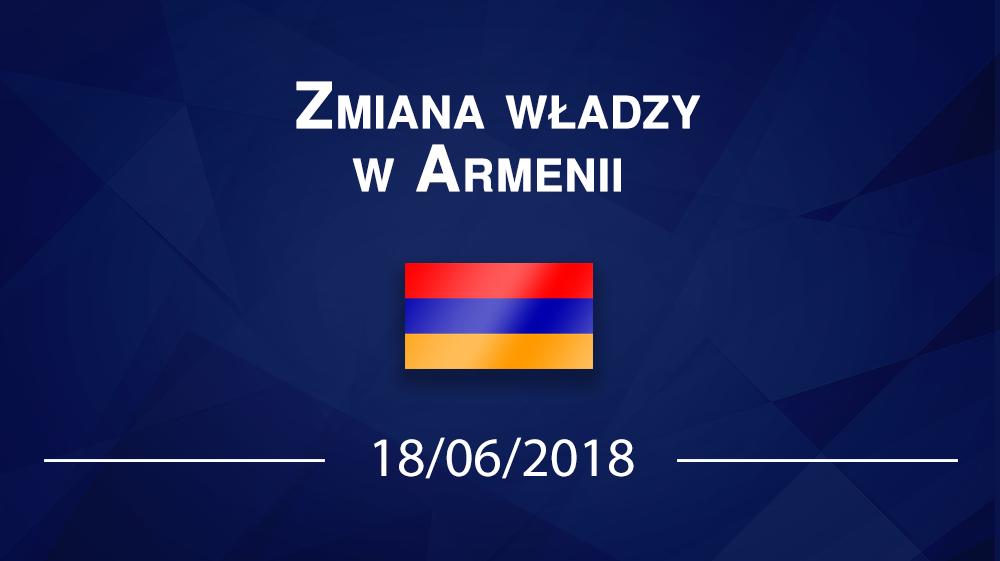 Zmiana władzy w Armenii