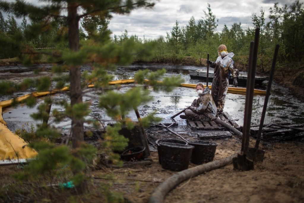 Oil Companies Damage Russian Environment
