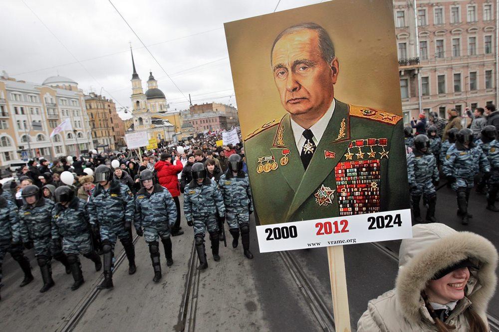 Suma wszystkich strachów. Putin 2018–2024