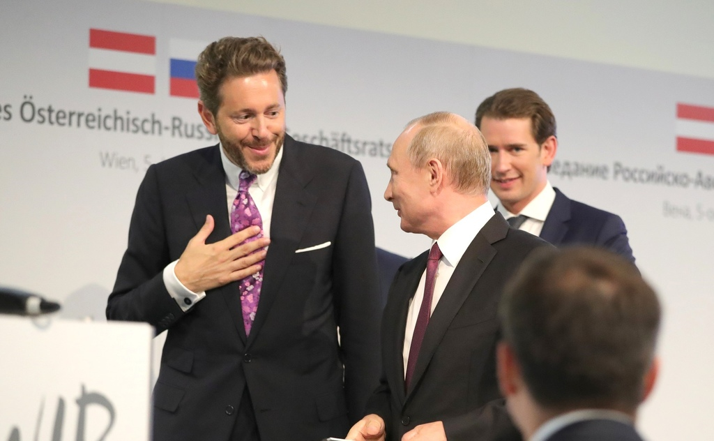 Austria i Nord Stream 2. Sędzia we własnej sprawie