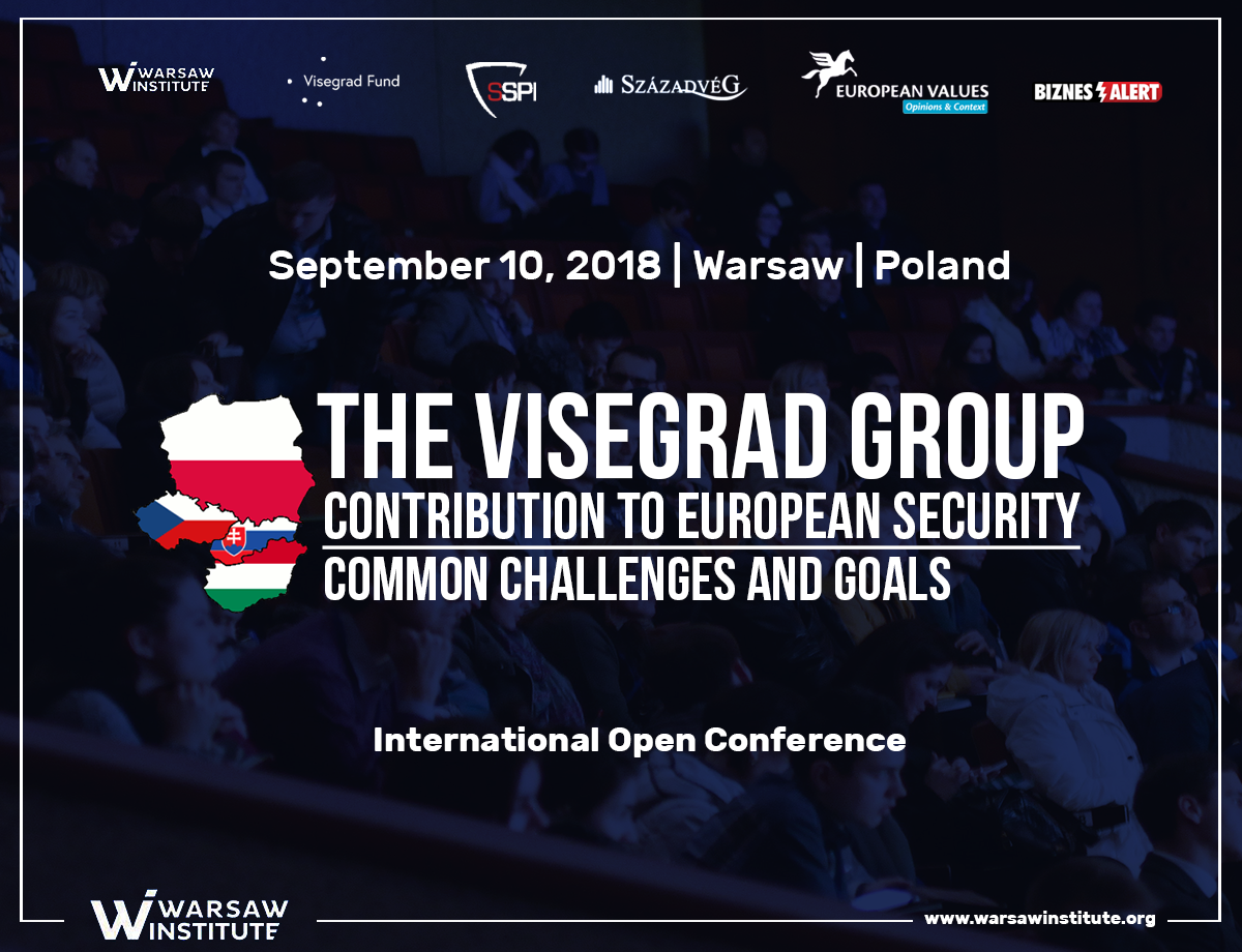 Konferencja Visegrad Group Contribution to European Security – Common Challenges and Goals