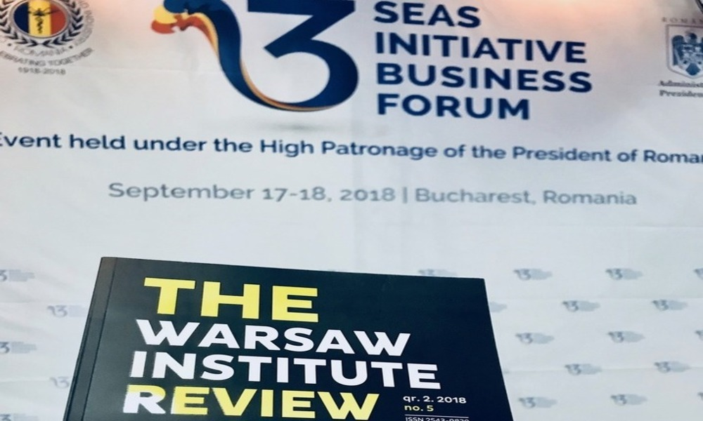3 Seas Initiative Business Forum, Bukareszt 2018 r.