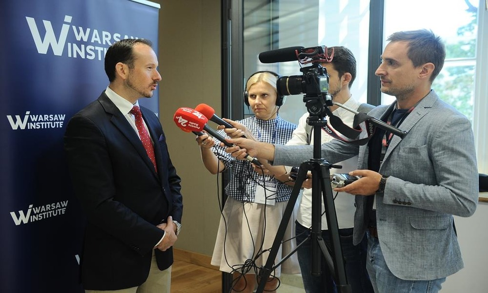 V4 Contribution to european security - Warsaw Institute Conference - Radko Hokovski interview