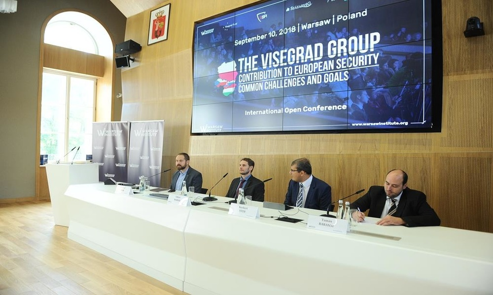 V4 Contribution to european security - Warsaw Institute Conference - The Impact of Uncontrolled Migration Movements on Internal Security in the European Union