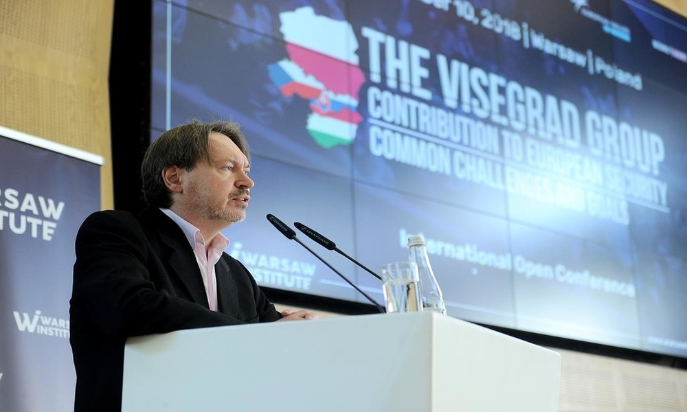 V4 Contribution to european security - Warsaw Institute - Conference - Tomasz Grosse