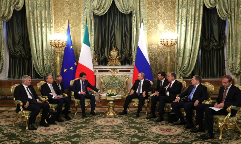 Italy to Withdraw From Rosneft Project