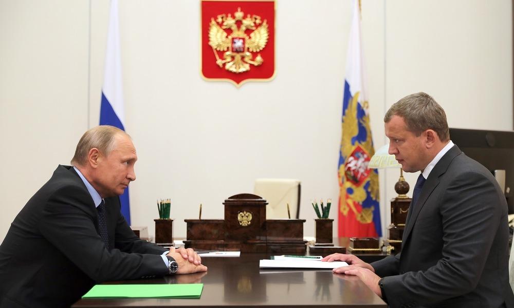 Kolejny ochroniarz Putina na stanowisku gubernatora