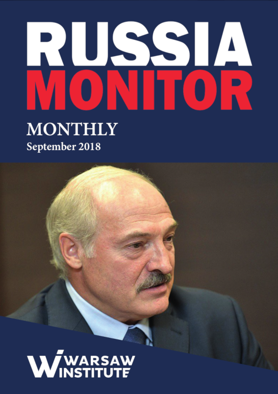 RUSSIA MONITOR MONTHLY 09/2018