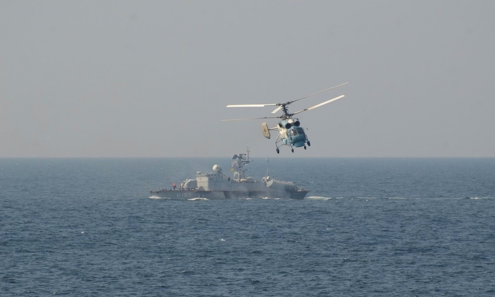 Rising tension in the Sea of Azov