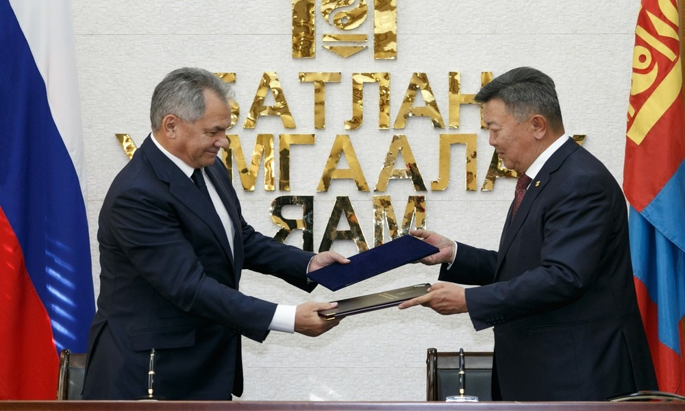Russia Gets New Ally as Shoigu Pays Visit to Mongolia