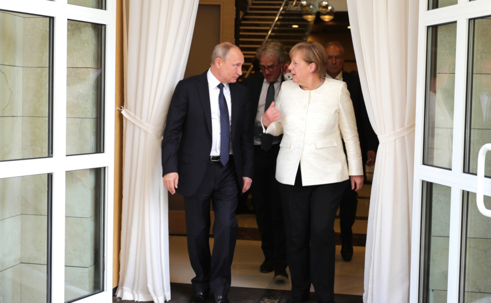 German-Russian Rapprochement: Gas and Common Enemies