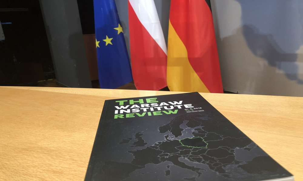 Warsaw Institute Forum Polsko Niemieckie The Warsaw Institute Review