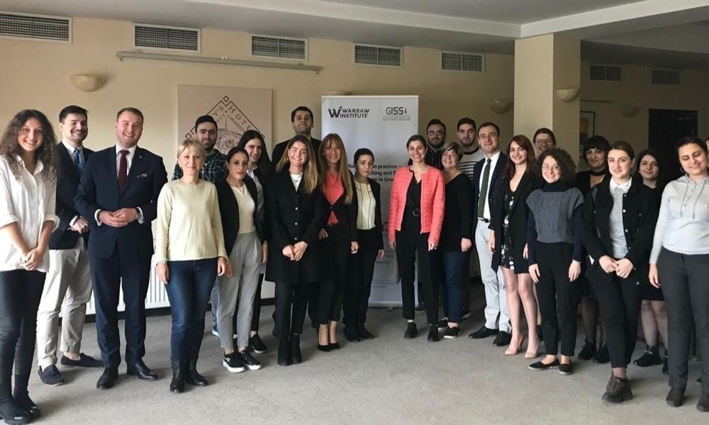 Dezinformacja w Gruzji – Warsztaty zorganizowane przez Warsaw Institute