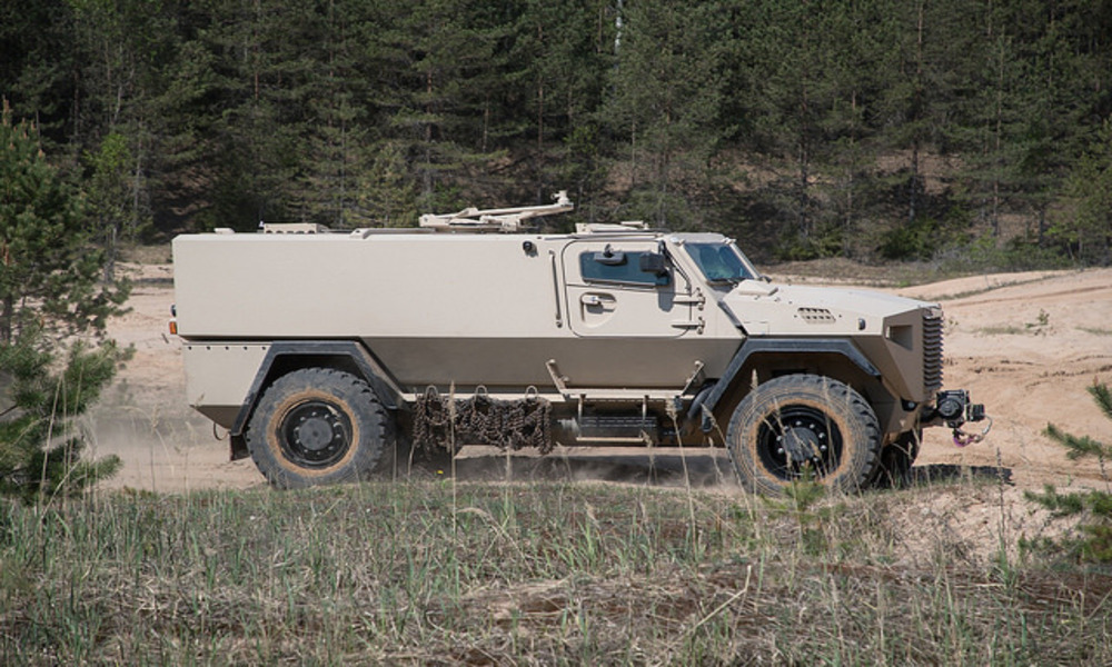 Latvian Army to Purchase Finnish Armoured Vehicles