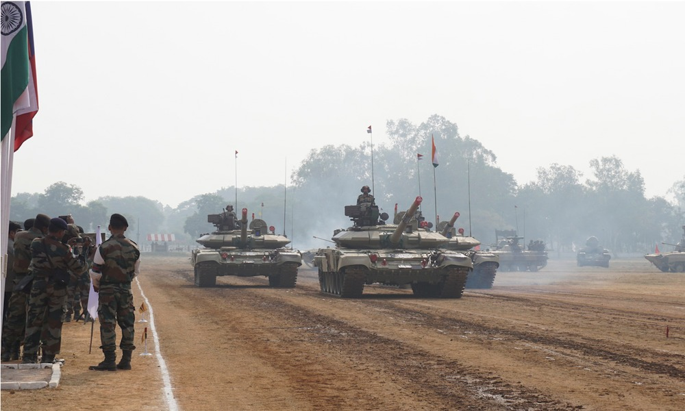 Russian-Indian Military Partnership: Military Drills and Weapons Purchase