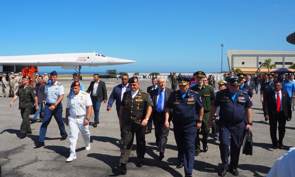 Russia Sends Its Bombers to Venezuela