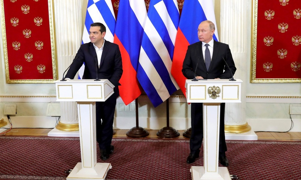 Russia Tempts Greece with Gas Promises