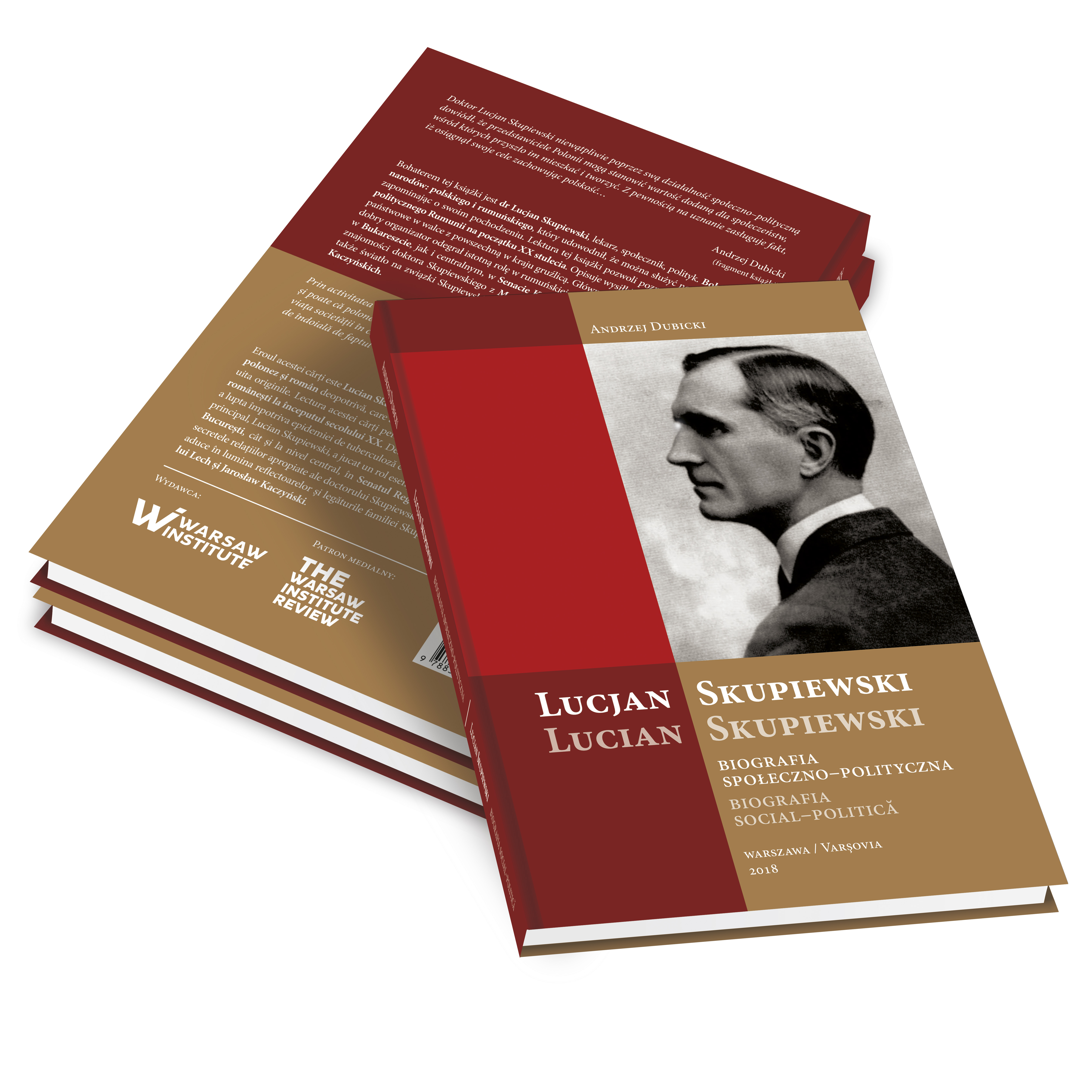 """Lucjan Skupiewski. Social and Political Biography"" – New Warsaw Institute Publication"