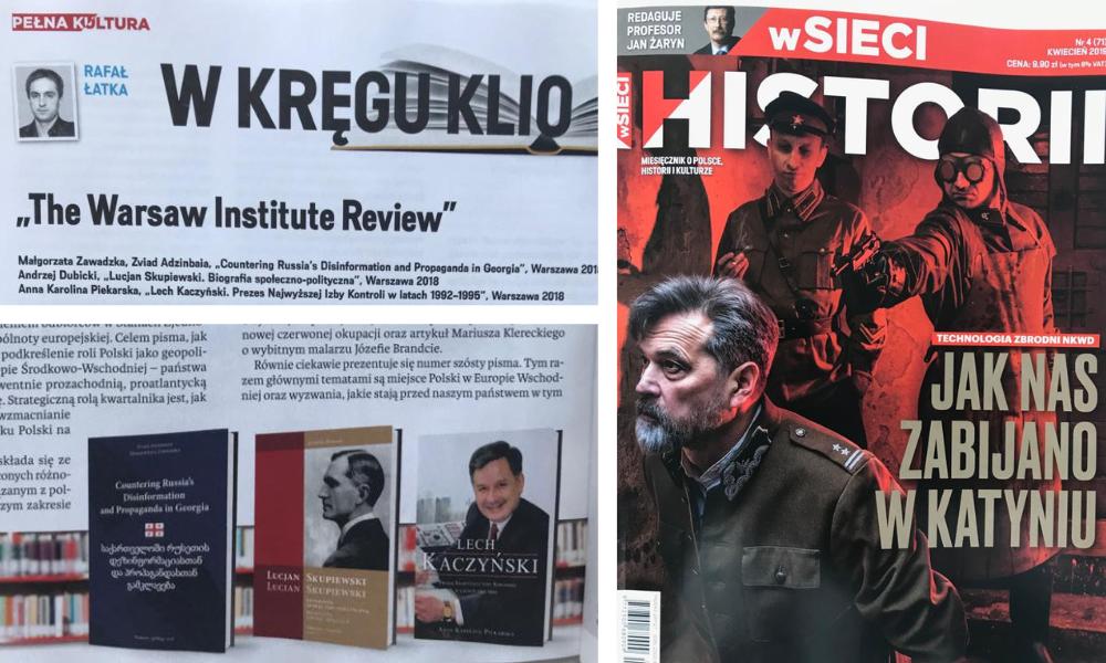 Recenzja wydawnicza publikacji Warsaw Institute
