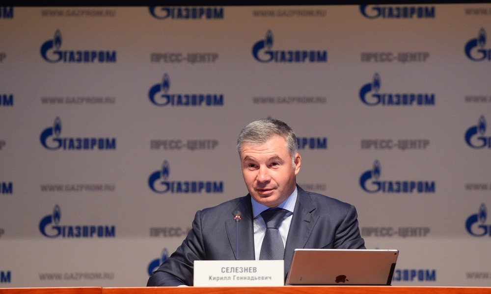 Gazprom's Seleznev Fired Amid Corruption Charges