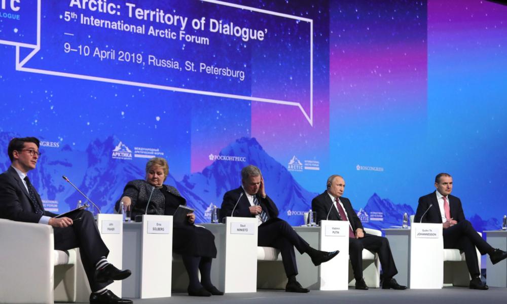 Arktyczne orędzie Putina: LNG i Północny Szlak Morski