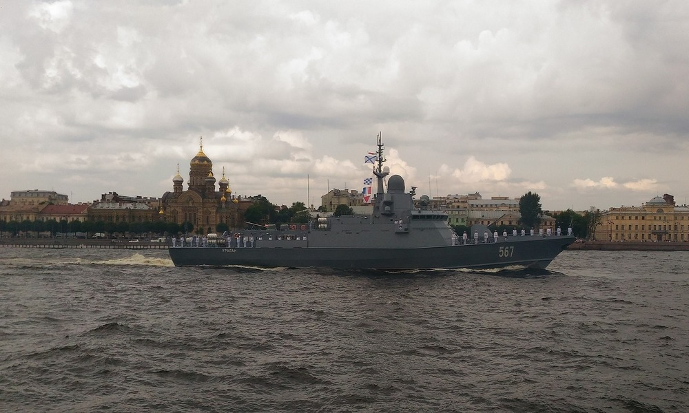 "Russia's Baltic Fleet Holds ""Anniversary"" Drills Near Baltic Coastline"
