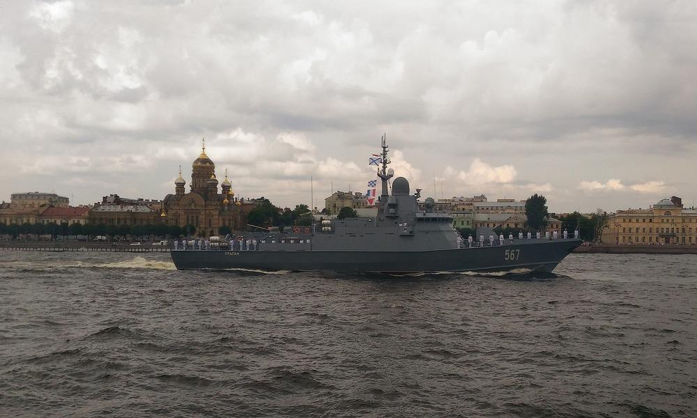 """""""Rocznicowa"""" aktywność Floty Bałtyckiej"""